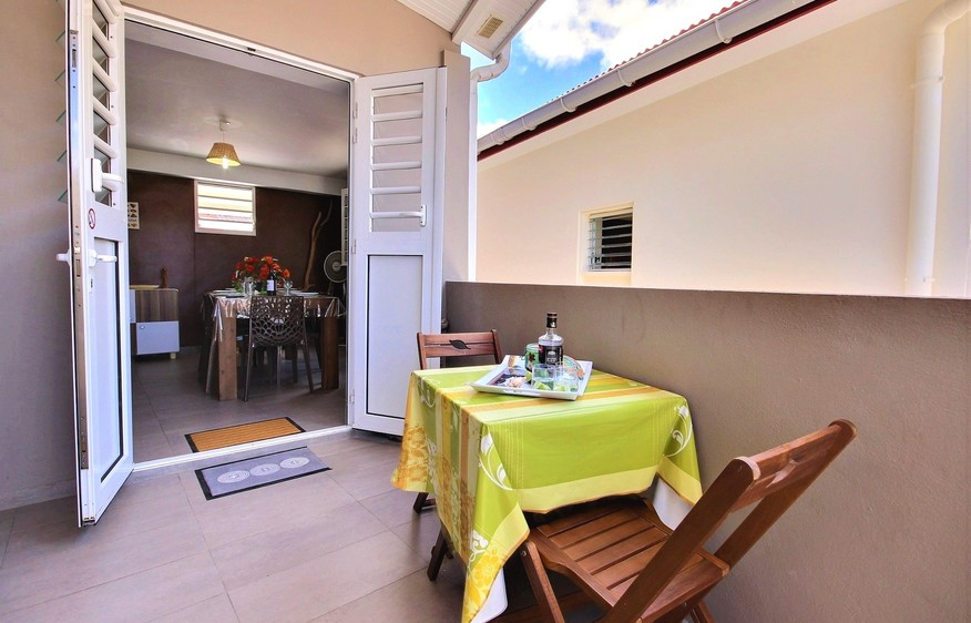 location Duplex Vanille Chocolat Grand Rivière Martinique