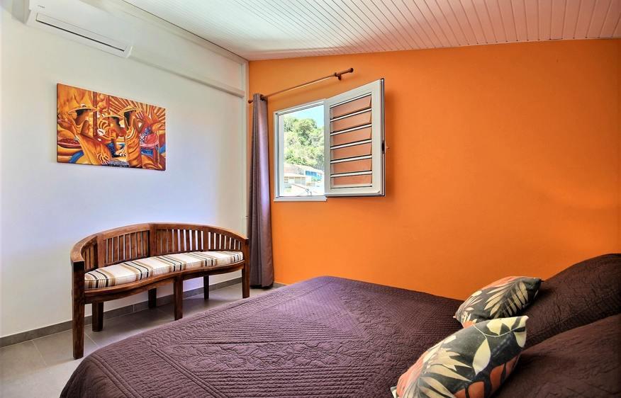 location Duplex Vanille Bleue Grand Rivière Martinique