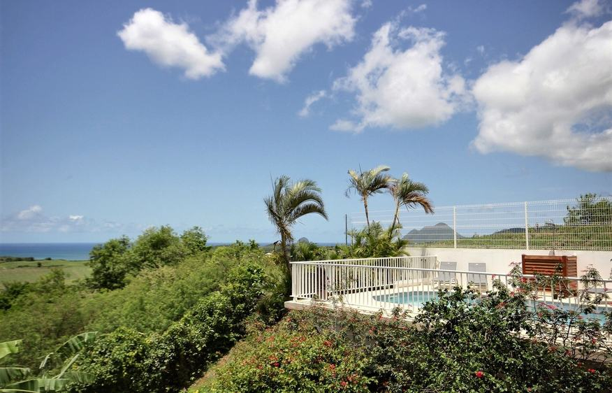 location Villa Carib Turquoise Rivière Salée Martinique