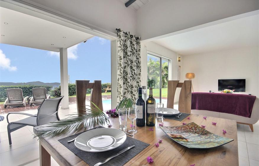 location Villa Fleur de Vanille Bellefontaine Martinique