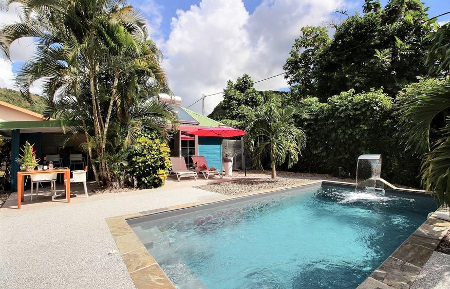 location Bungalow Jambiani Case Pilote Martinique