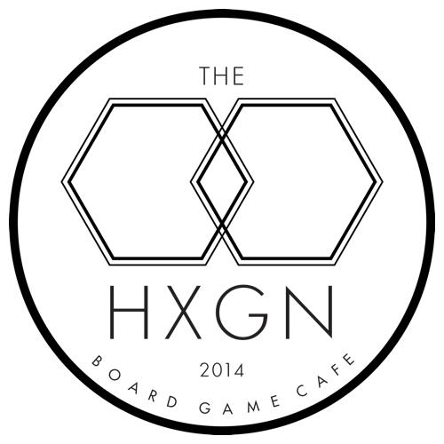 Logo for The Hexagon Board Game Cafe