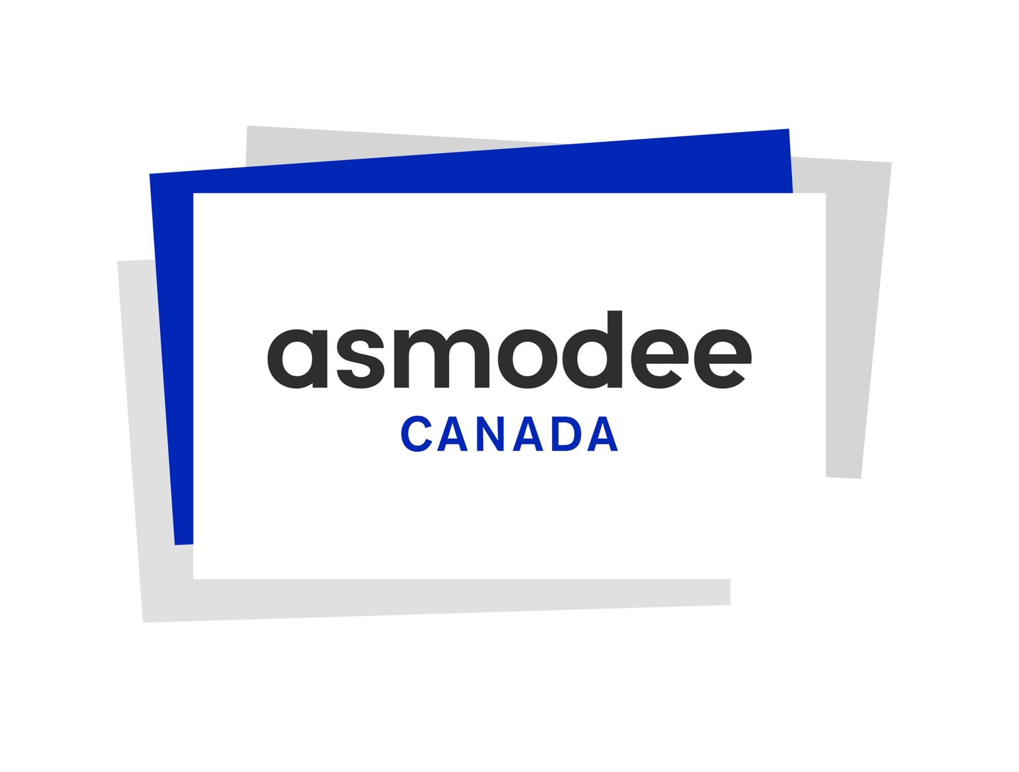 Logo for Asmodee Canada