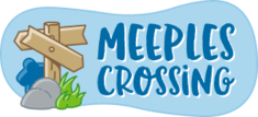 Logo for Meeples Crossing