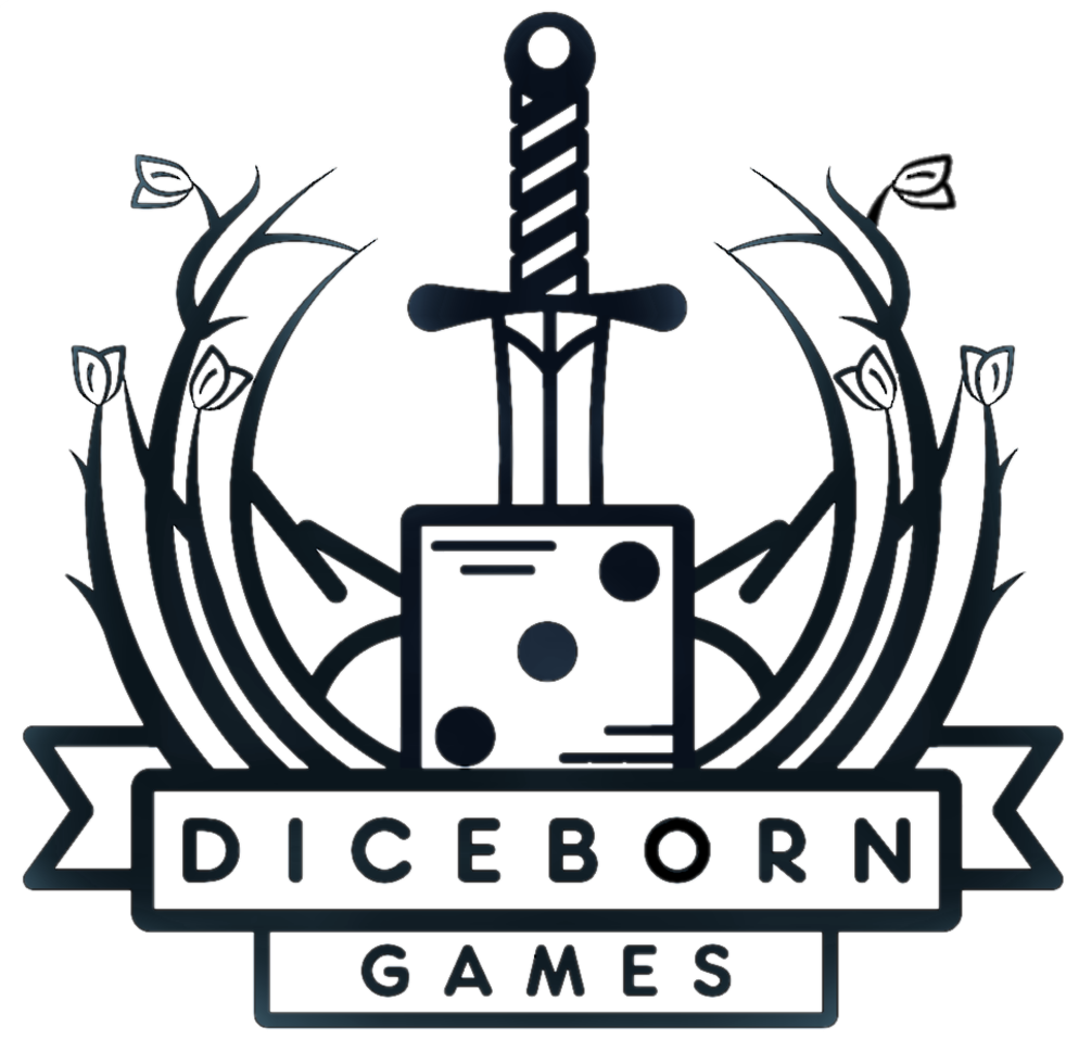 Logo for Diceborn Games Ltd.