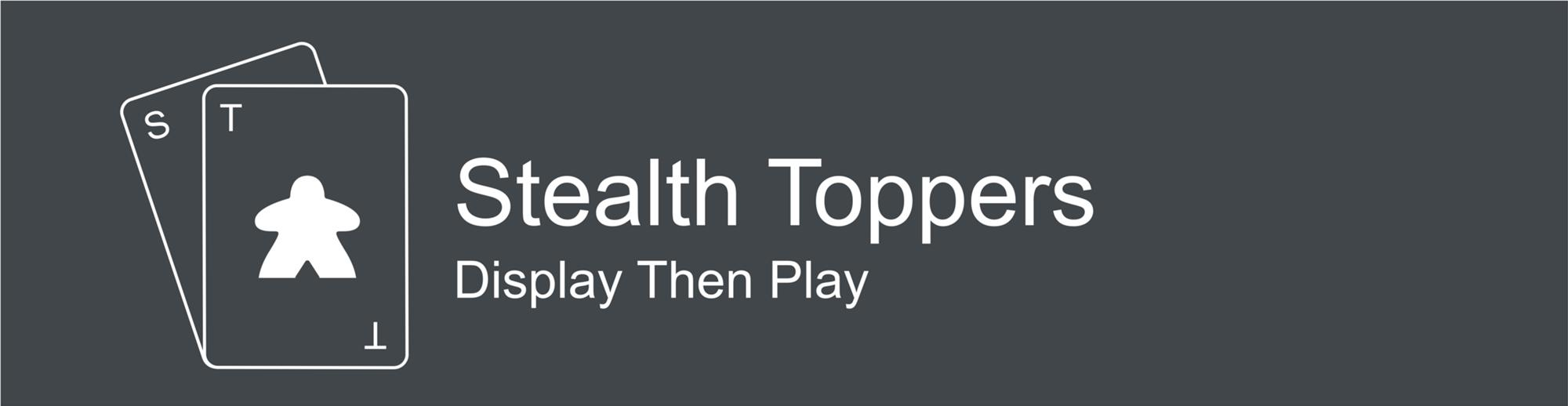 Logo for Stealth Toppers