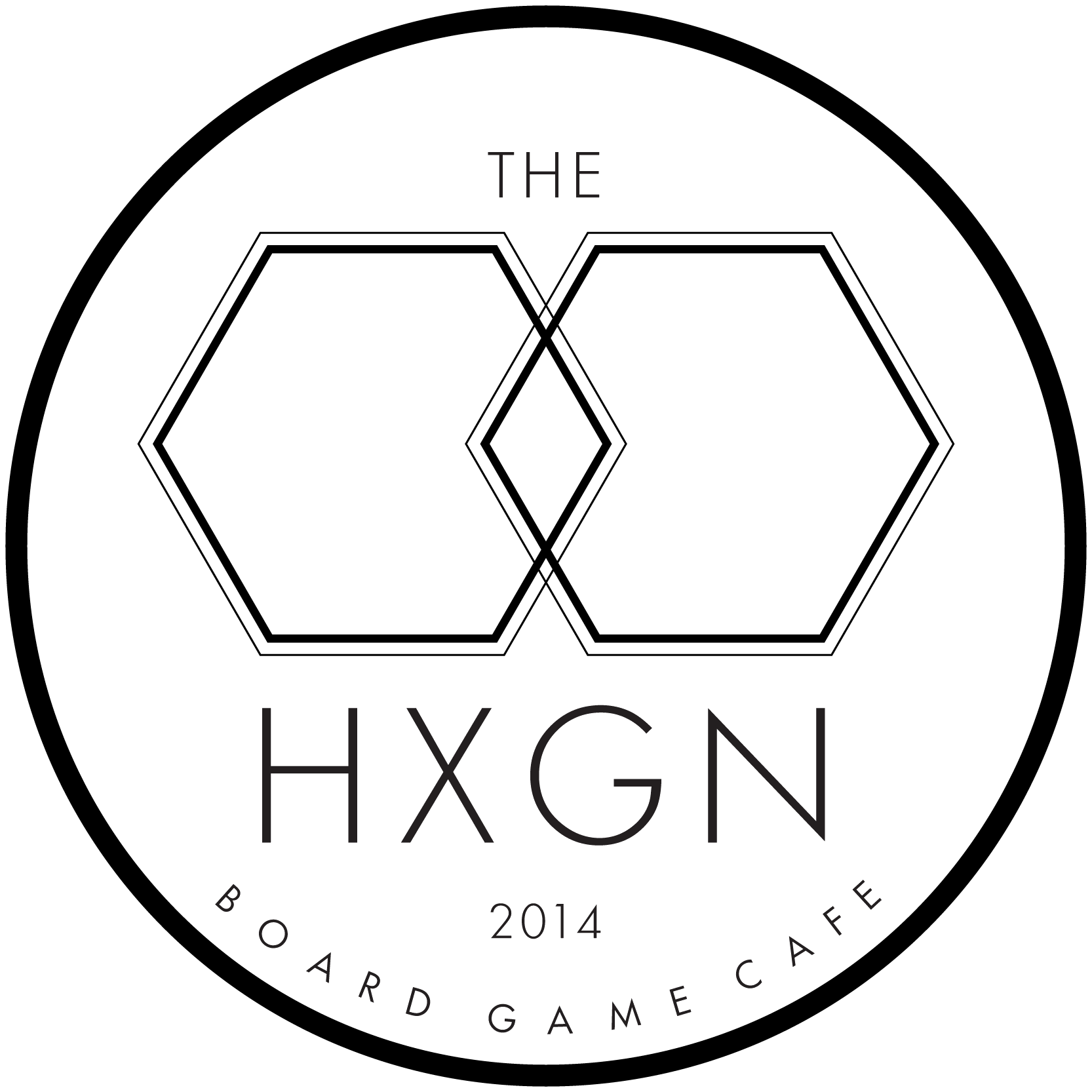 Logo for Hexagon Cafe