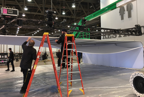Installation and Dismantle Trade Show Labor
