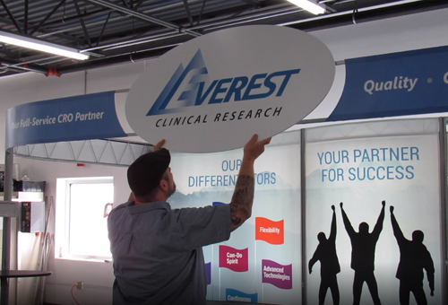 Replacement Trade Show Display Graphics