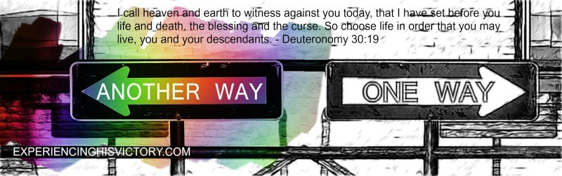 I call heaven and earth to witness against you today, that I have set before you life and death, the blessing and the curse. So choose life in order that you may live, you and your descendants. - Deuteronomy 30:19