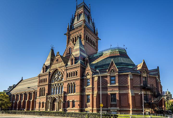 5 melhores universidades do mundo - Harvard