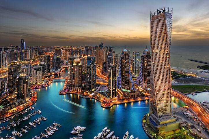 Estudar e Trabalhar em Dubai - Cidade