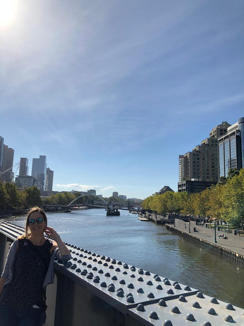Intercâmbio em Melbourne - Yarra River
