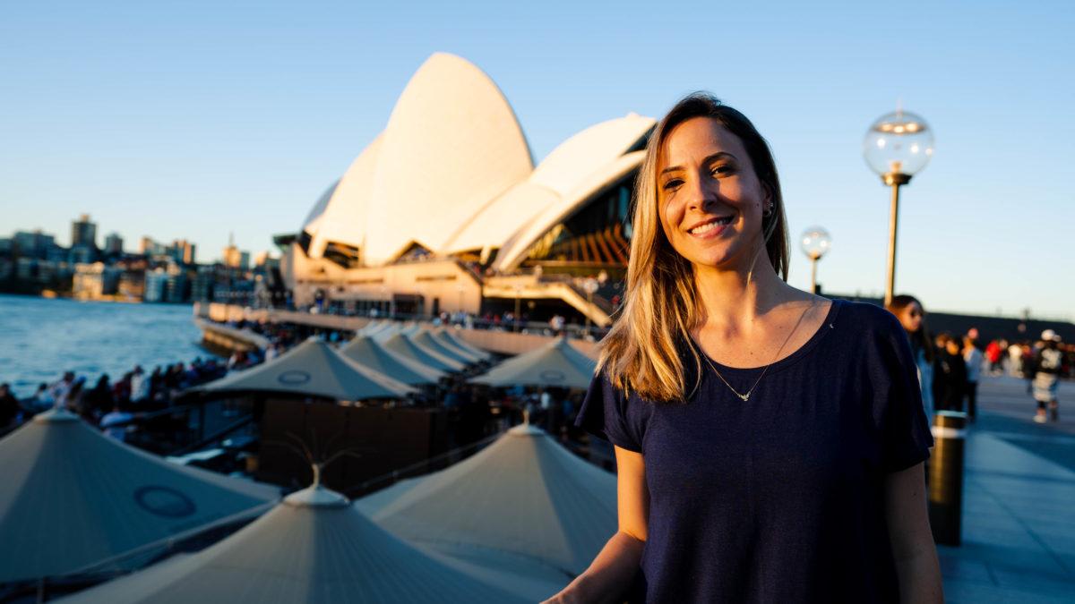 Intercambio em Sydney - Opera House