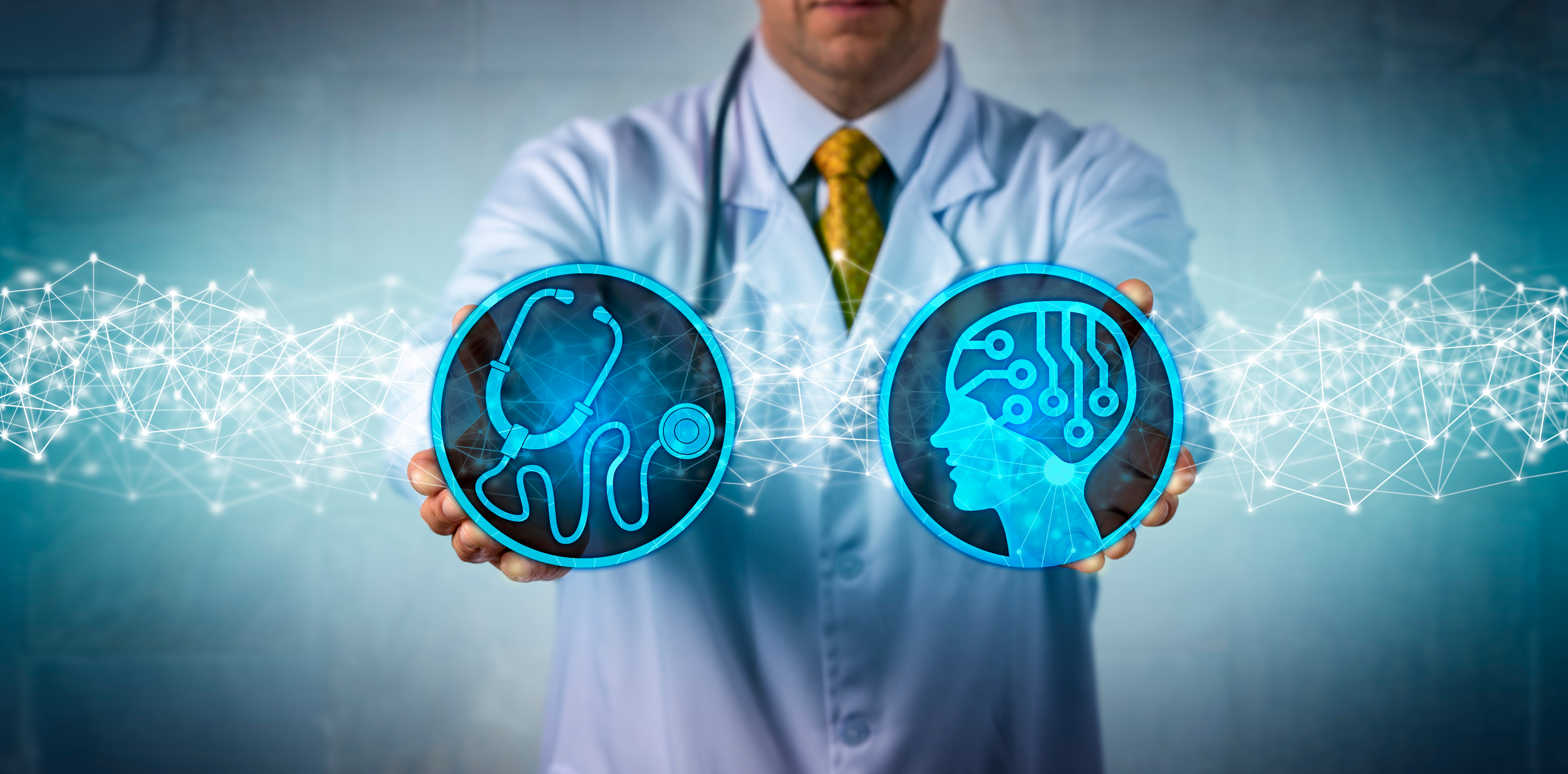 use of artificial intelligence by doctors to support patients