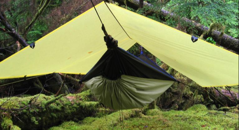 Basic Hammock Camping Setup Serac Hammocks