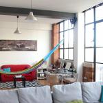 how to set up indoor hammock