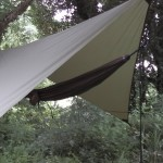 hammock with rainfly tarp setup
