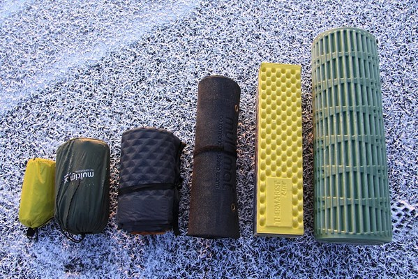 Different sleeping pads to replace your hammock underquilt