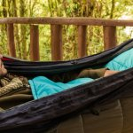 Make your own DIY Hammock under quilt and top quilt for camping
