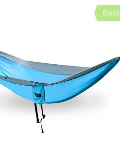serac sequoia xl double camping hammock snowmelt teal color