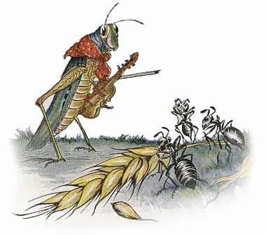 The Ants & the Grasshopper