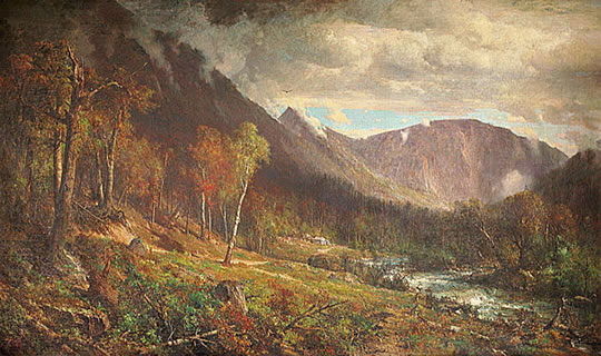 Crawford Notch (1872), painted by Thomas Hill