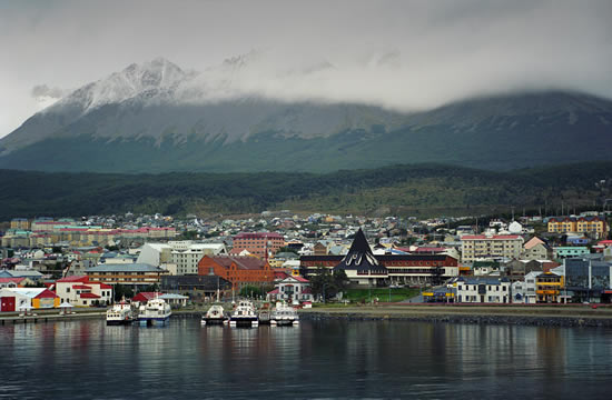 Ushuaia, southernmost city in the world