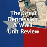 Texas History The Great Depression and World War II:Unit Review