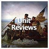 Social Studies American History Unit Review Tests