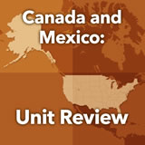 World Cultures North America Unit Review II