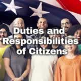 Civics Citizen Participation and Government Duties and Responsibilities of Citizens