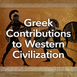 Social Studies Middle School Greek Contributions to Western Civilization