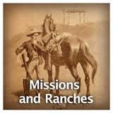 US History Age of Jackson and Westward Expansion Missions and Ranches
