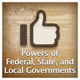 US History The U.S. Constitution Powers of Federal, State, and Local Governments