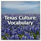 Texas Studies Texas Culture Texas Culture: Vocabulary