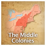 US History European Colonization The Middle Colonies