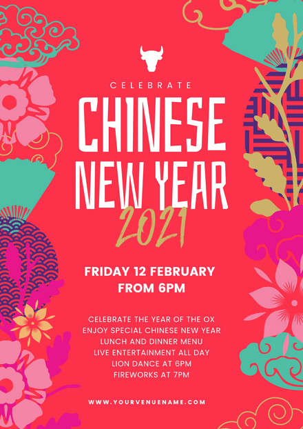 Chinese New Year 2021 Template - Colorful