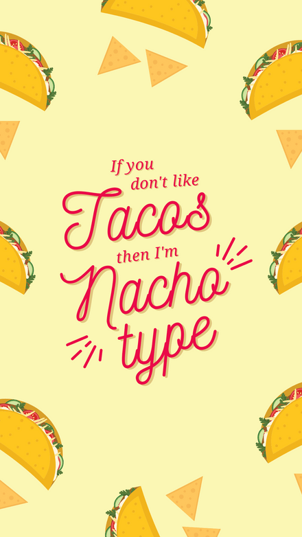 National Nachos Day Graphic Template