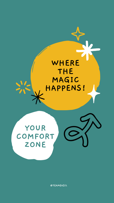 Quote: Comfort Zone Teal Gold