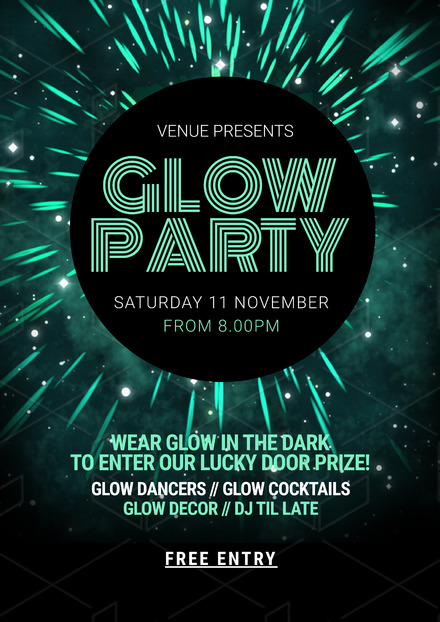Glow Party Easil