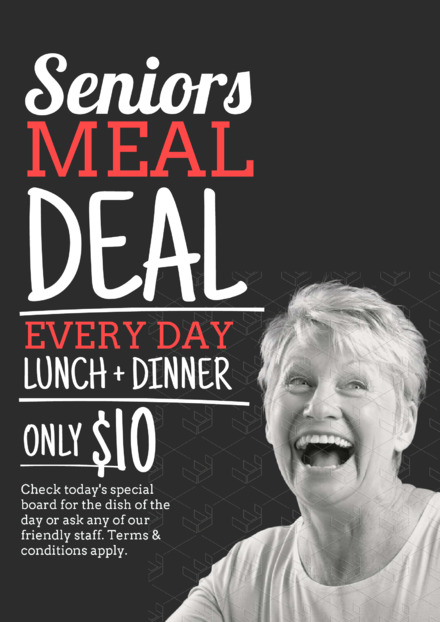 Seniors Meal Deal