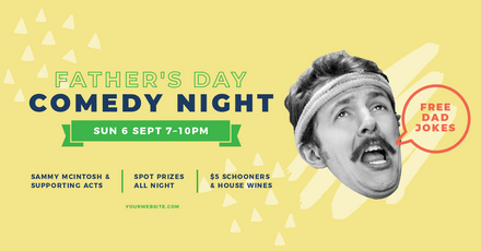 Father's Day Comedy Night - Vintage