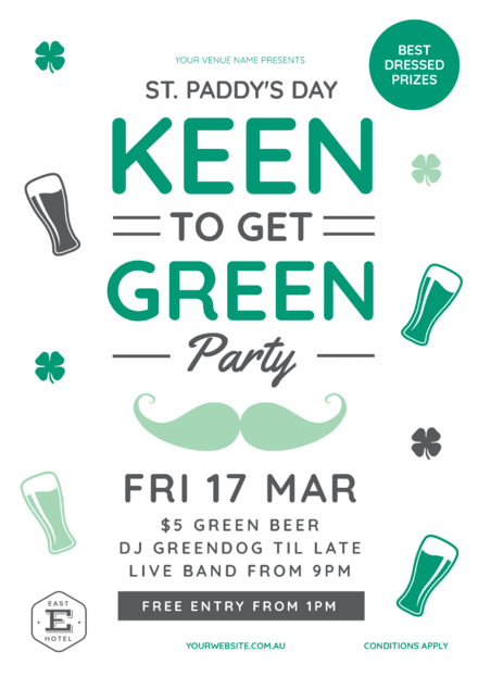 St Patricks Day Keen to get Green Party