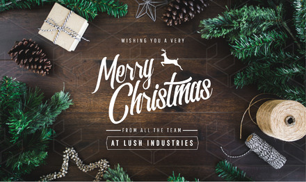 Wishing you a Merry Christmas Template with styled stock xmas image ...