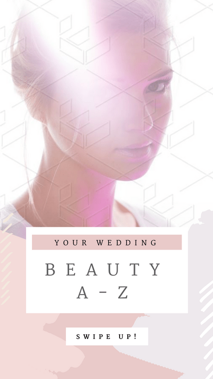 Your Wedding Beauty A-Z Template