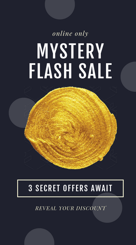 Mystery Flash Sale Instagram Story Template