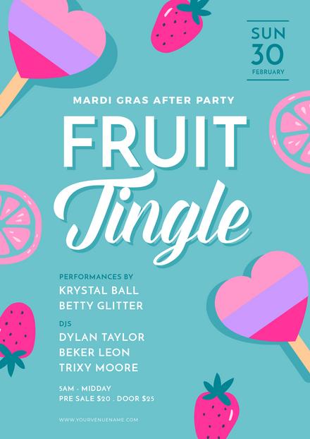 Mardi Gras Fruit Tingle After Party