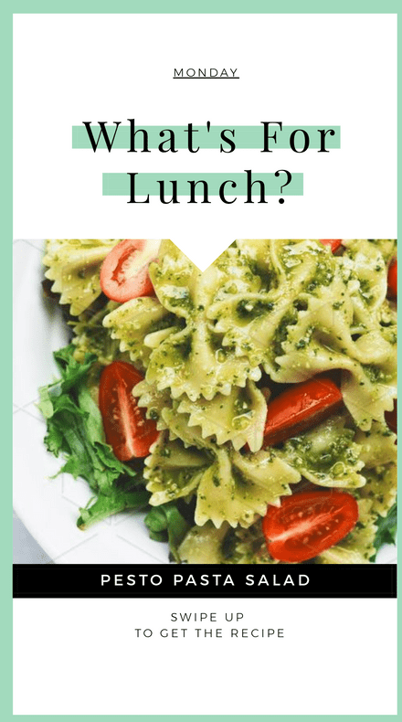 What's for lunch - Instagram Story Multipage Template