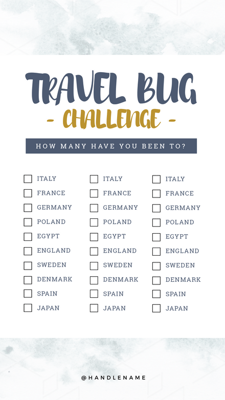 Travel Bug Challenge Quiz